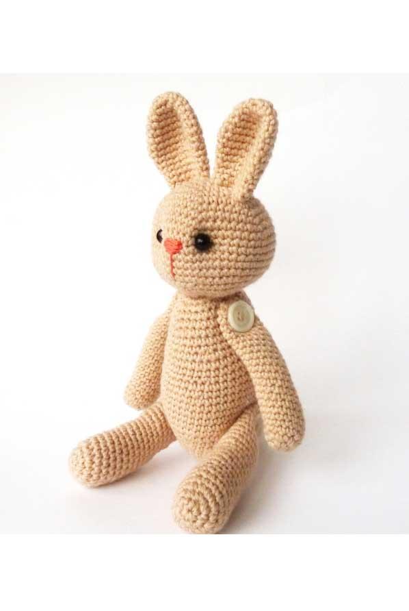 Заяц крючком. Схема вязания