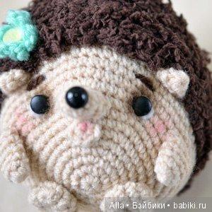 Ежик амигуруми: схема вязания игрушки