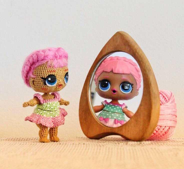 Кукла Лол: своими руками