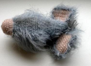 Мышонок крючком Пуфф: серое, хвостатое, милое