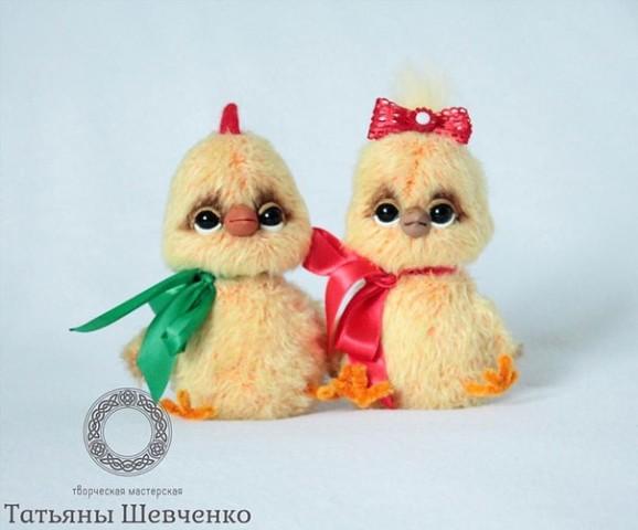 Цыпленок крючком: пушистые малыши
