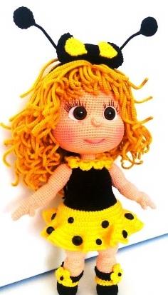 Куколка-малышка Жу-Жу