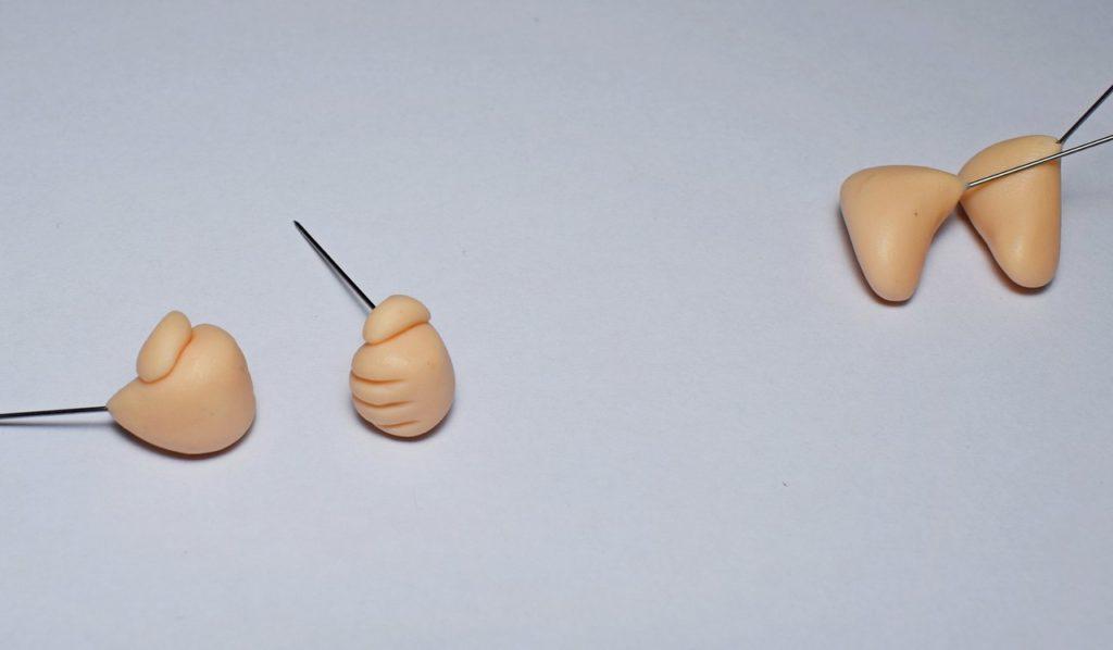 Вязаный мышонок крючком: Шурка