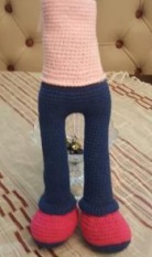 Вязаная кукла амигуруми: Хилал (Hilal - Полумесяц)