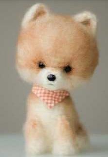 Китайская собачка крючком: очень реалистичная