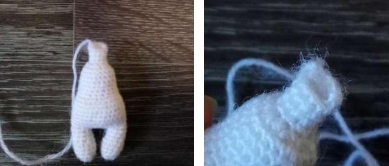 Крыса амигуруми крючком: символ 2020