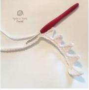 Креативная подушка из плюшевой пряжи крючком