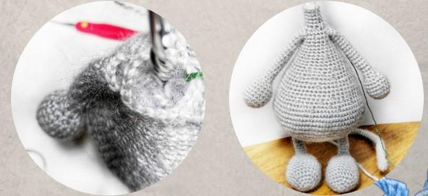 Мышка амигуруми: Рути